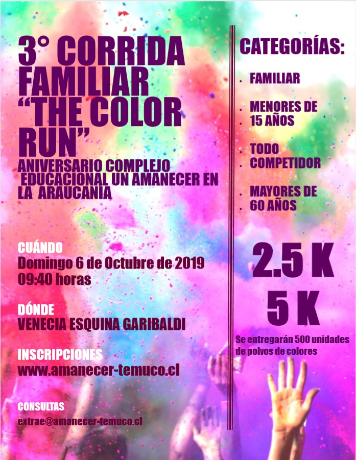 THE COLOR RUN ANIVERSARIO